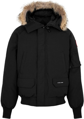 Canada Goose Chilliwack Fur-trimmed Arctic-Tech Bomber Jacket