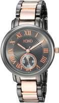 XOXO Women's Quartz Metal and Alloy Casual Watch, Color:Two Tone (Model: XO208)