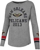 '47 Women's New Orleans Pelicans Encore Long Sleeve T-Shirt
