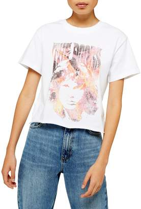 Topshop The Doors Cropped Band Tee by And Finally
