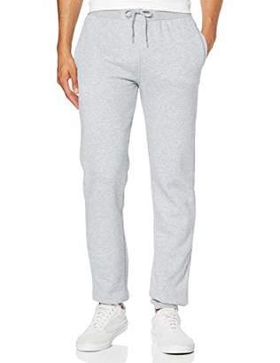 Build Your Brand Men's Heavy Sweatpants Sports Trousers,26 (Size: 52)