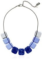 """Kenneth Cole New York Blue Mood"""" Mixed Semiprecious Faceted Stone Necklace, 18.5"""" + 3"""" Extender"""