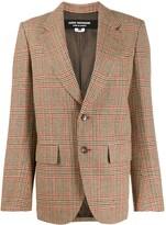 Junya Watanabe slim-fit checked blazer