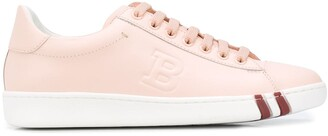 Bally Embossed Logo Lace-Up Sneakers