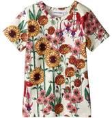 Mini Rodini Garden Short Sleeve Tee Girl's T Shirt