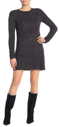 Max Studio Raglan Sleeve Sweater Dress