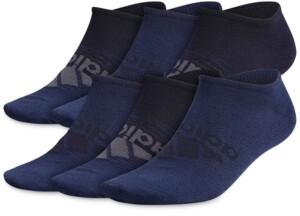 adidas Men's 6-Pack Superlite Badge Of Sport No Show Socks