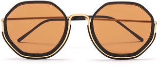 Wires Glasses Honeys - Gold, Black & Brown