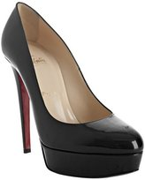 black patent calf 'Bianca 140' platform pumps