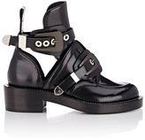Balenciaga Women's Double-Buckle-Strap Boots-BLACK