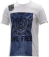 Buffalo David Bitton Men's Nacap Short Sleeve Crew Neck Fashion Tee Shirt