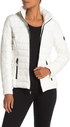 Nautica Stretch Puffer Water Resistant Jacket