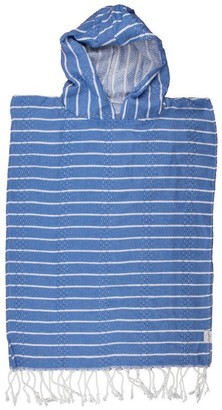 House of Jude Child Poncho Turkish Towel Blue Moon