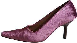 Gucci Pink Velvet Heels
