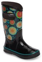 Bogs Girl's Wildflowers Waterproof Rubber Rain Boot