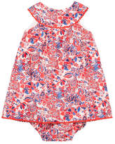 Elephantito Floral Print Dress and Bloomers Set