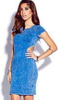 Forever 21 Cutout Mineral Wash Dress