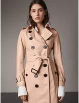 Burberry Lambskin Trench Coat