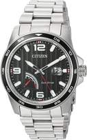 Citizen Men's 'Sport' Quartz Stainless Steel Casual Watch, Color:d (Model: AW7030-57E)