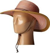 San Diego Hat Company Women's 4-Inch Brim Mixed Braid Sun Hat