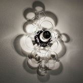 Glass Ring Sconce