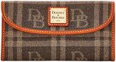 Dooney & Bourke DB Plaid Jacquard Continental Clutch
