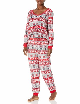 Karen Neuburger Women's Long Sleeve Pullover Pajama Set Pj
