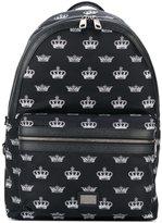 Dolce & Gabbana 'Vulcano' backpack - men - Leather/Nylon - One Size