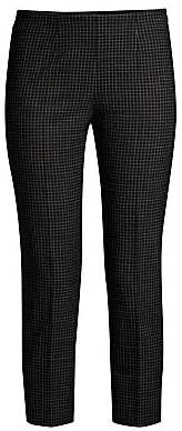 Piazza Sempione Women's Checked Audrey Pants