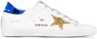 Golden Goose GG Superstar worn-effect sneakers