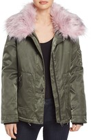 GUESS Joy Faux Fur-Collar Parka