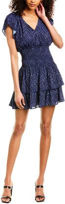 Parker V-Neck Mini Dress