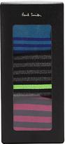 Paul Smith Stripe Pattern Socks, Pack Of 3, One Size, Multi