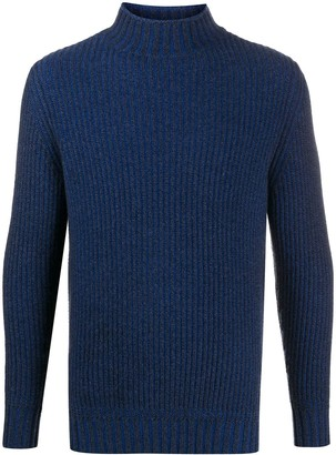 N.Peal Roll Neck Chunky Knit Jumper