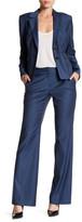 Classiques Entier Flare Leg Wool Blend Suit Pant