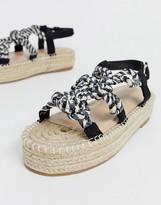 Co Wren rope espadrille flatform sandals