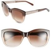 Bobbi Brown Women's 'The Graces' 54Mm Cat Eye Sunglasses - Black/ Tortoise Fade