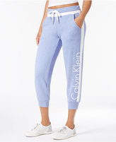 Calvin Klein Cropped Logo Sweatpants