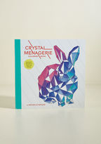 Chronicle Books Crystal Menagerie Coloring Book