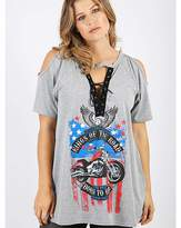 Koko Grey Motor Cycle Top