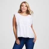 Merona Women's Plus Size Eyelet Top