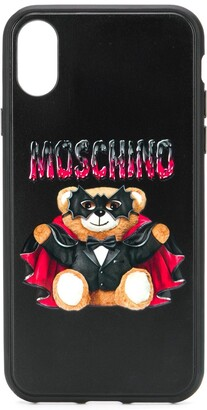 Moschino Bat Teddy Bear iPhone X/XS case