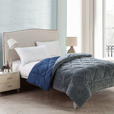 VCNY Kyle Plush Plaid Reversible Comforter