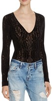Free People On The Dance Floor Burnout Bodysuit