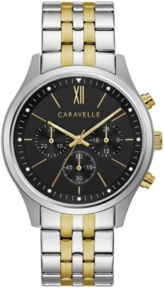 Caravelle by Bulova Men's Two-Tone Bracelet Watch