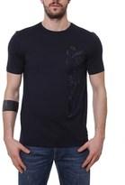 Fendi Men's Blue Cotton T-shirt.