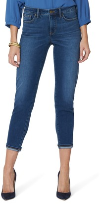 NYDJ Easy Fit Roll Cuff Ankle Skinny Jeans