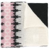 Moncler patterned scarf - women - Polyamide/Mohair/Wool - One Size