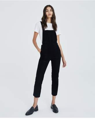 AG Jeans The Pleated Isabelle Overall - Super Black
