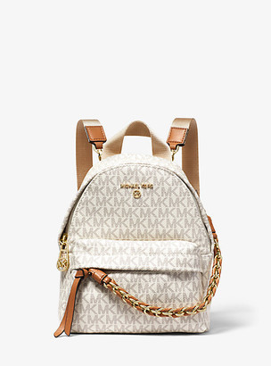 Michael Kors Slater Extra-Small Logo Convertible Backpack